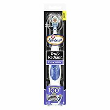 2 Pack Arm & Hammer Spinbrush Truly Radiant Battery Power Toothbrush Colors Vary