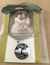 Inspirational Sister Necklace In Gift Package