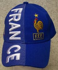 Embroidered Baseball Cap Soccer International France FFF Football Club NEW