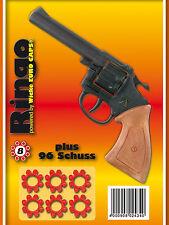 RINGO + 96 Amorces PISTOLE für KINDER von SOHNI-WICKE 8er Agenten - COLT -