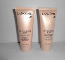 2 tubes Lancome Nutrix Royal Body Intense Lipid Repair Cream 2 oz each