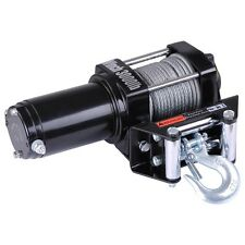 3000lb Electric Recovery Winch 12V ATV UTV Car Truck Trailer Kit Roller Fairlead