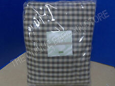 Ballard Designs Vintage Vogue Sofa SLIPCOVER Chocolate Check Gingham Tailored
