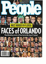 PEOPLE WEEKLY     JUNE, 27th 2016    MASS MURDER IN FLORIDA   FACES OF ORLANDO