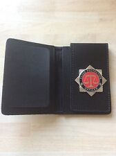 Close Protection Officer Badged ID Card Wallet (deluxe Version)