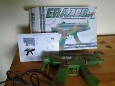 PS1 BOXED Erazer green Lightgun Sony Playstation Sega Saturn rare G-Con