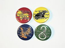 Harry Potter Buttons- Lot #4 Hogwarts House Quote LOT