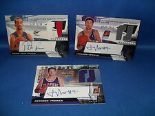 2004 UD BASKETBALL - SPx (3) AUTOGRAPHED NBA JERSEY CARDS / ROOKIES *LQQK*