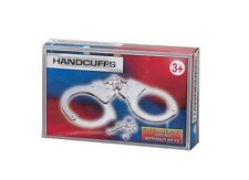 KIDS TOY METAL HANDCUFFS HAND CUFFS POLICE FANCY DRESS CHILDRENS PRETEND PLAY
