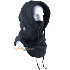 New Black Thermal Balaclava Full Face Outdoor Hood Swat Ski Mask Neck Warmers