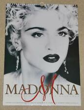 MADONNA 2001 UK OLIVER BOOKS CALENDAR N.MINT!!