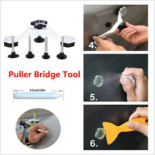 Gliston Bridge Puller Car Body Dent Paintless Repair Hail Tools Kits+5p Glue Tab