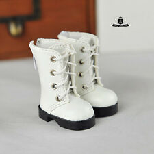 1/6 BJD Shoes Yosd Dollfie DREAM DIM White Boots DOD SOOM MID AOD LUTS Dollmore