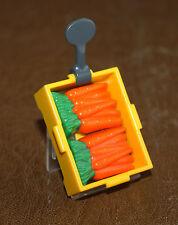 Playmobil accessoire cagette carottes présentoir épicerie 3202 ref bb