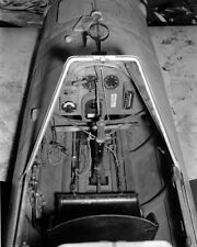WWII B&W Photo Japanese MXY7 Ohka Suicide Bomb Cockpit  World War Two WW2 / 6113