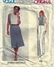 Vogue Designer Sewing Pattern 2130 Belinda Bellville Pullover Dress Size 14