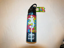 FIFA World Cup Brazil 2014 stainless steel bottle blue Cup Beverage 20 fl oz