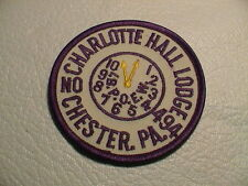 CHARLOTTE HALL LODGE IBPOEW BROTHERHOOD ELKS NO. 494 CHESTER PENNSYLVANIA PATCH