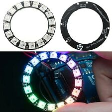 NeoPixel Ring Anneau WS2812B 16 LED 5050 SMD RGB Integrated Driver Diamètre 45MM