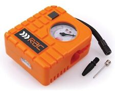 HEAVY DUTY RAC 12V MINI AIR COMPRESSOR CAR VAN BIKE TYRE INFLATOR PUMP