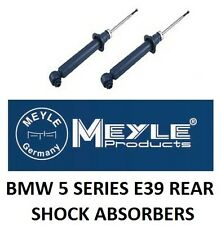 MEYLE REAR GAS SHOCK ABSORBERS BMW 5 SERIES E39 PAIR X2 520 523 525 530 535 i d