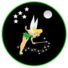 TINKERBELL FAIRY- FUN / NOVELTY  CAR TAX DISC HOLDER  - GIFT - NEW - REUSABLE