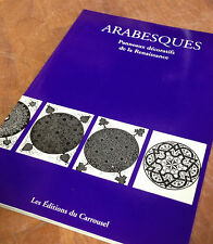 Arabesques Panneaux Decoratif de la Renaissance Carrousel Paris 1999 Book French