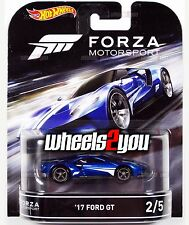 17 FORD GT - Forza Motorsport - 2016 Hot Wheels Retro Ent D Case IN-STOCK