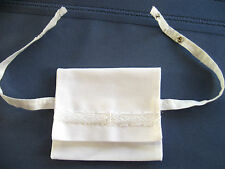 Instead of a purse - attach to bra straps - ID cash credit card drivers license