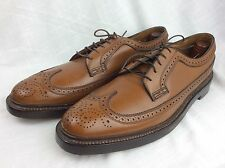 NOS! NEW Florsheim Imperial 5 Nail V Cleat Longwing Gunboat 93602 Kenmoor 10.5 A