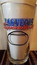 OFFICIAL NASCAR SPEEDWAY BUDWEISER PINT GLASS LAS VEGAS