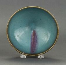 Chinese purple splashed Jun bowl, N. Song – Jin dynasties (960-1234 AD)