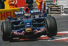 Sebastien Bourdais Hand Signed 12x8 Photo Scuderia Toro Rosso F1 5.