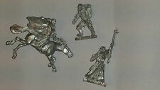 GW Lord of The Rings 3 Models missing arms - Metal - Unpainted - LOTR