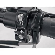 Joker Machine Black Single-Cable Thread-In Throttle Housing for 1 Bars Harleys