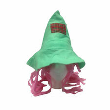 Forever Beautiful Green & Pink Scarecrow Child Costume Hat 53151-GP