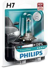 MOTO - 1 AMPOULE LAMPE PHILIPS H7 X-TREME VISION 12V 55W // +130 % de LUMIERE