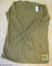 NEW USMC PECKHAM FROG SILK WEIGHT LONG SLV SHIRT COYOTE LARGE, N.I.P