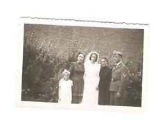 Altes Foto Bild Deutsches Reich 2. Weltkrieg Hochzeitsfoto [479]