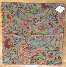 *2* Pottery Barn RORY Paisley Velvet Pillow Covers~ NEW~ SOLD-OUT Stores/Online