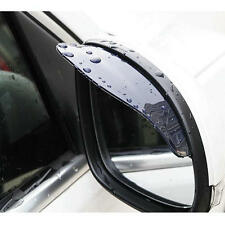 Useful 2x Universal Rear View Side Mirror Rain Snow Shield Protect For Car Auto