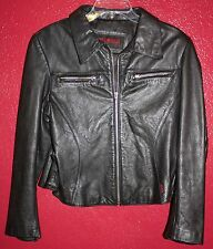 Women's Guess Genuine Leather Jacket SIZE L