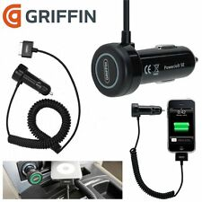 Griffin Power Jolt SE GC23056 Car Charger for iPhone 4 4S 3G 3GS iPod- Black