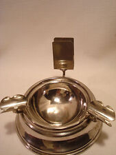 Vintage.....Retro....Chrome.......Match Stick Holder..&...Cigar Ashtray
