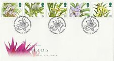 (88044) GB FDC Orchids - London EC 16 March 1993
