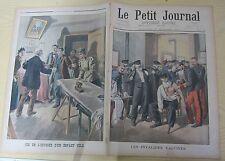 Le petit journal 1900 528 Les invalides vaccinés + enfant volé