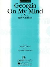 Georgia on My Mind Sheet Music Piano Vocal Ray Charles NEW 000351624