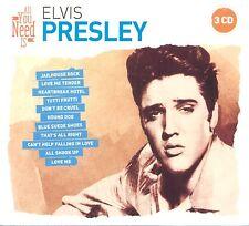 ELVIS PRESLEY - ALL YOU NEED IS: ELVIS PRESLEY 3 CD NEU