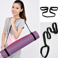 Durable Yoga Mat Carry Sling Carrier Shoulder Strap Belt Assistant Tool Amusing