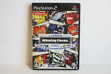 Winning Eleven 2007 Club Championship PS PS2 Good Japan Import US Seller